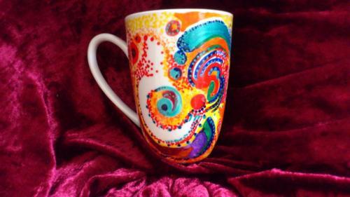 Kunst auf Keramik...